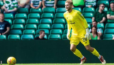 Scott Bain: Celtic goalkeeper will start League Cup final against