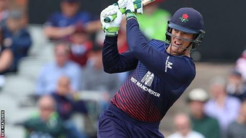 One-Day Cup: Lancashire beat Derbyshire in rain-shortened