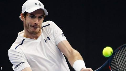 Andy Murray at the China Open