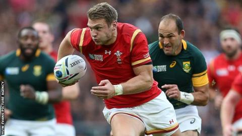 Dan Biggar impressed for Wales during the 2015 World Cup, scoring 56 points in four games