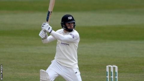 Gloucestershire opener Chris Dent has made 251 runs in his first three Championship games of the season