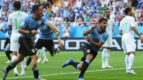 Uruguay v Saudi Arabia