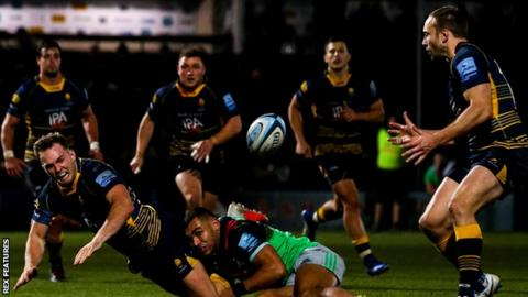 Worcester Warriors v Harlequins