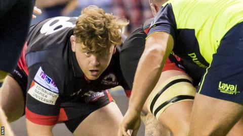 Kevin Bryce in action for Edinburgh against Leinster