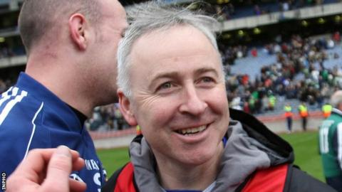 Lenny Harbinson guided St Gall's to All-Ireland club success in 2010