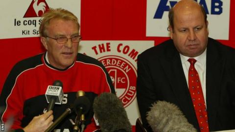 Wyness (right), served as Aberdeen chief executive for three years before holding similar roles at Everton and Aston Villa