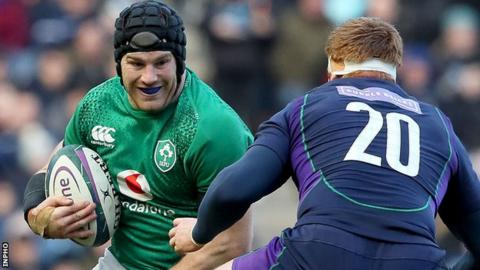 Sean O'Brien won his 54th cap for Ireland in Saturday's Six Nations win over Scotland