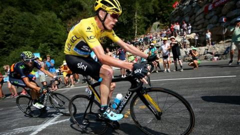 Chris Froome during stage 11 of the Tour de France