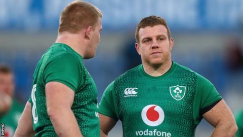 Sean Cronin with John Ryan after Ireland's unimpressive win over Italy