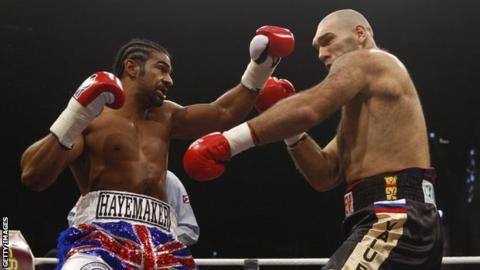 David Haye: Time to quit after living dream