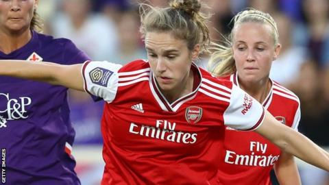 Women's Champions League: Arsenal outclass Fiorentina 4-0 in Italy in last 32 first leg