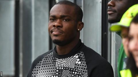Souleymane Coulibaly watches Partick Thistle in action