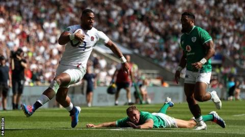 England 57-15 Ireland: Eddie Jones' side dominate visitors in World Cup warm-up