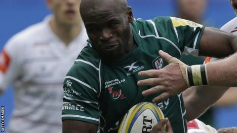 London Irish's Topsy Ojo