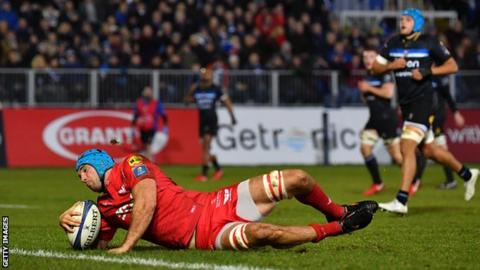 Bath vs Scarlets, Champions Cup