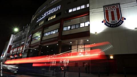 General view of Stoke's stadium