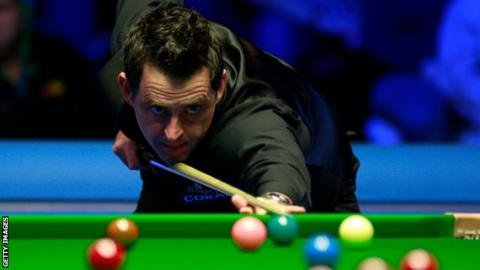 O'Sullivan trailed 2-0 but soon moved 5-2 up
