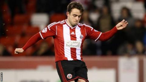 Jose Baxter has been with Sheffield United since August 2013