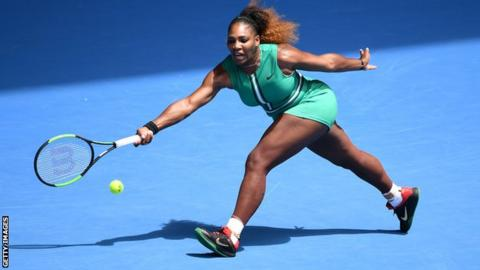 Serena Williams powers into third round of Australian Open