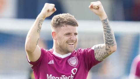 Arbroath striker Bobby Linn