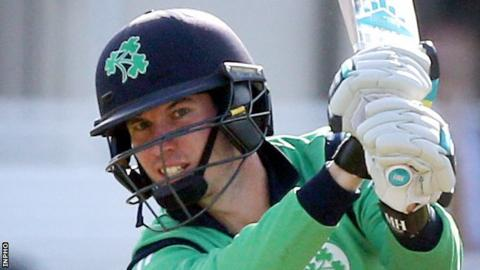 George Dockrell top-scored for Ireland in their first tour game in Oman