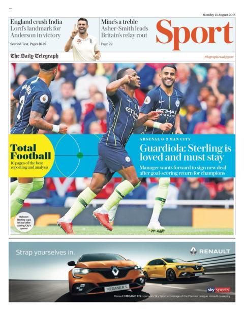 Daily Telegraph newspaper