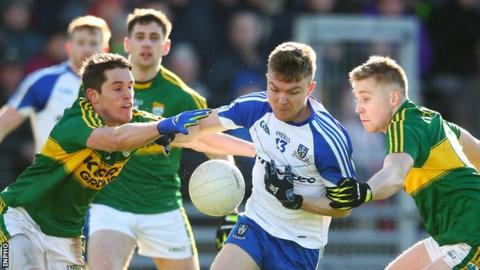 Monaghan have never beaten Kerry in the All-Ireland championship