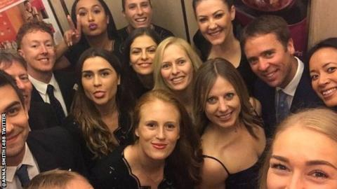 The British Fed Cup Team