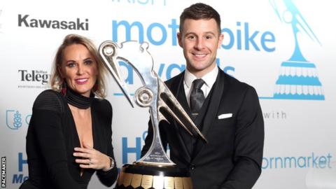 Jonathan Rea: Five-time WSB champion takes Irish Motorcyclist of the Year award for fifth year in a row