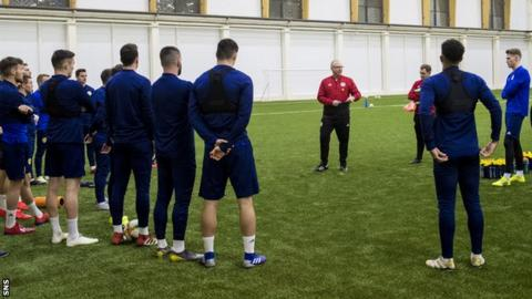 Scotland trained in Kazakhstan at 20:00 GMT local time on Tuesday