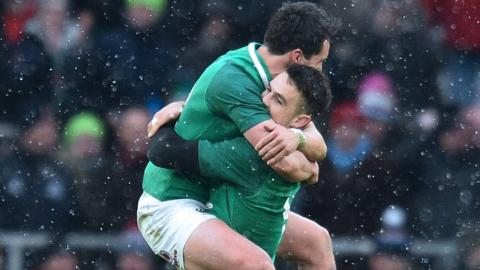 Ireland win Grand Slam title