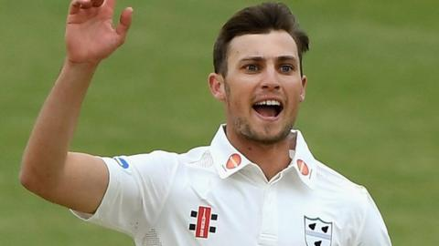 Ed Barnard's 6-50 was his second six-wicket haul of the season, to follow his career-best 6-37 against Somerset at Taunton in April