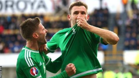 NI skipper Gareth McAuley has scored three goals in the Euro 2016 qualifying campaign