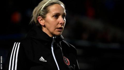 Former Sheffield United Women's manager Carla Ward