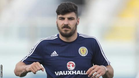 Hearts full-back Callum Paterson