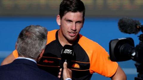 Cameron Norrie through to first ATP Tour final in hometown Auckland