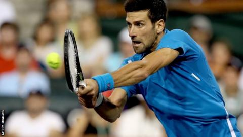 Djokovic is the world number one