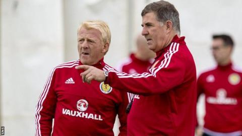 Gordon Strachan, Mark McGhee