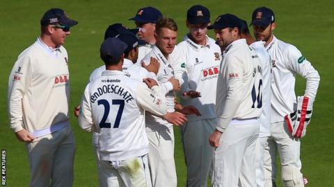 Essex celebrate
