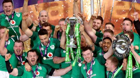 Ireland have won only their third Grand Slam
