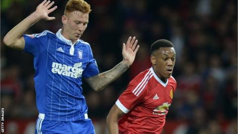 Josh Yorwerth and Anthony Martial