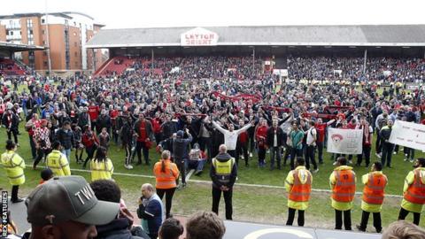 Leyton Orient fans