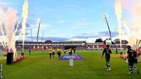 T20 Blast Finals Day at Edgbaston