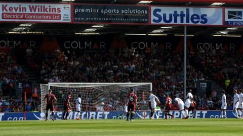 Ryan Fraser scores for Bournemouth
