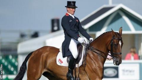 Burghley Horse Trials Oliver Townend Leads British