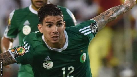 Algeria's Carl Medjani