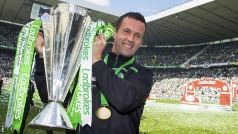 Departing Celtic manager Ronny Deila