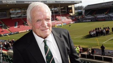 David Matthews: Leicester Tigers legend and club record appearance maker dies aged 82