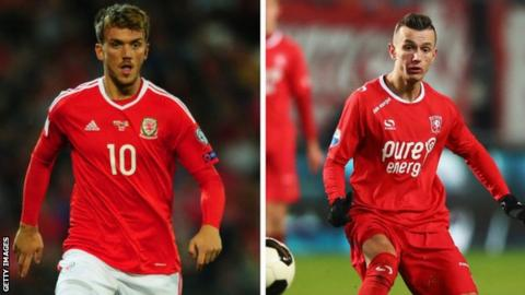 Emyr Huws and Bersant Celina