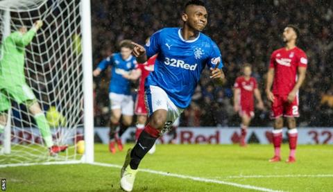 Rangers 2-0 Aberdeen: Alfredo Morelos worth a 'barrowload of cash' - Murty